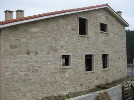 Stone rustic house